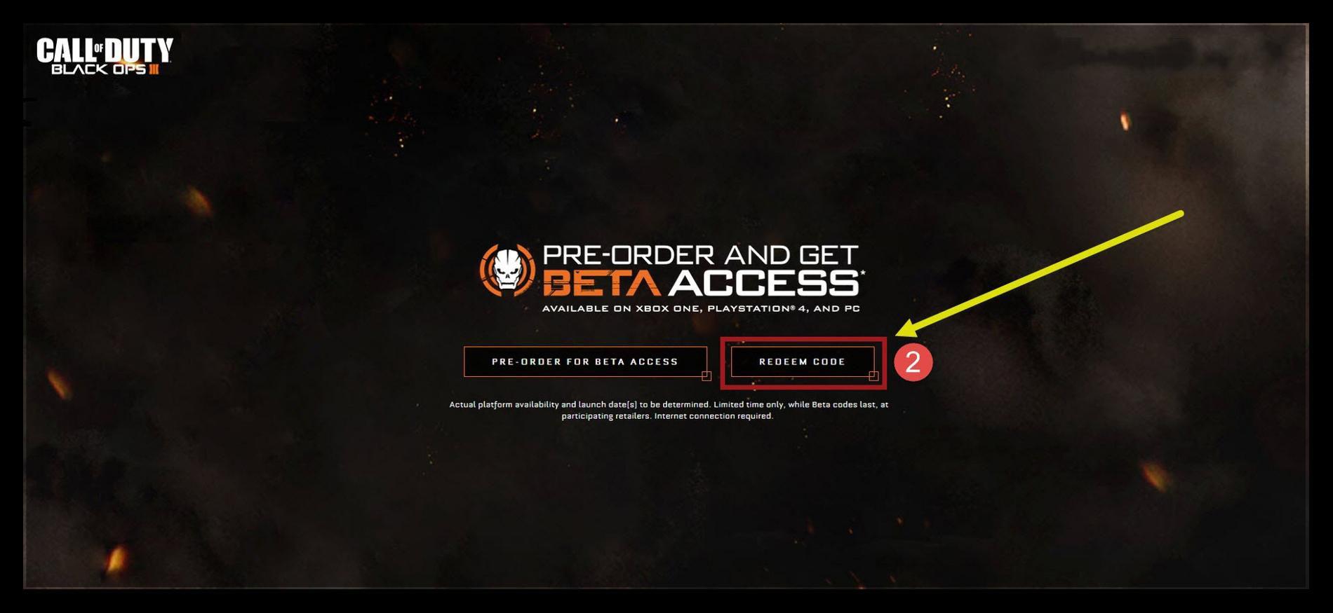 Call of Duty Black Ops 3 Multiplayer Betaya Nasıl Kayıt Olunur?