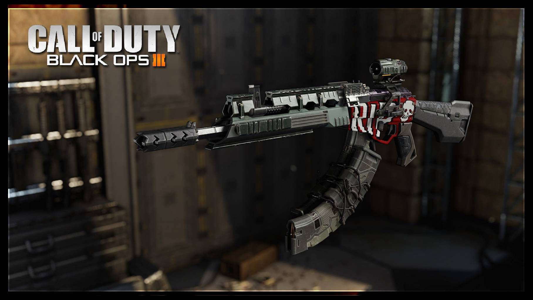 Call of Duty Black Ops 3 Gunsmith ve Weapon Paint Shop Modifikasyon Sistemi
