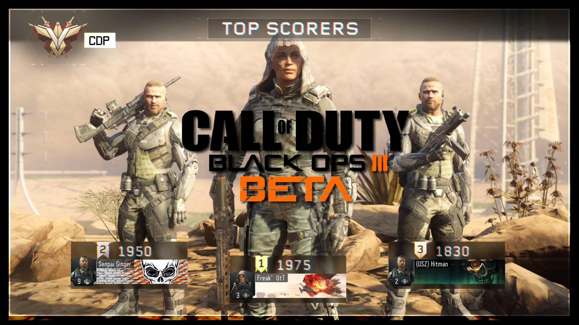 Call of Duty Black Ops 3 Multiplayer Beta PC Ekran Görüntüleri
