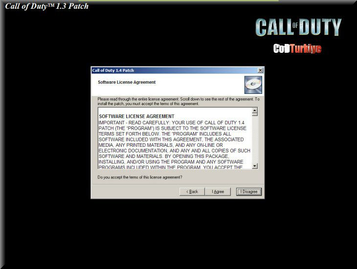 Call of Duty v1.3 Patch
