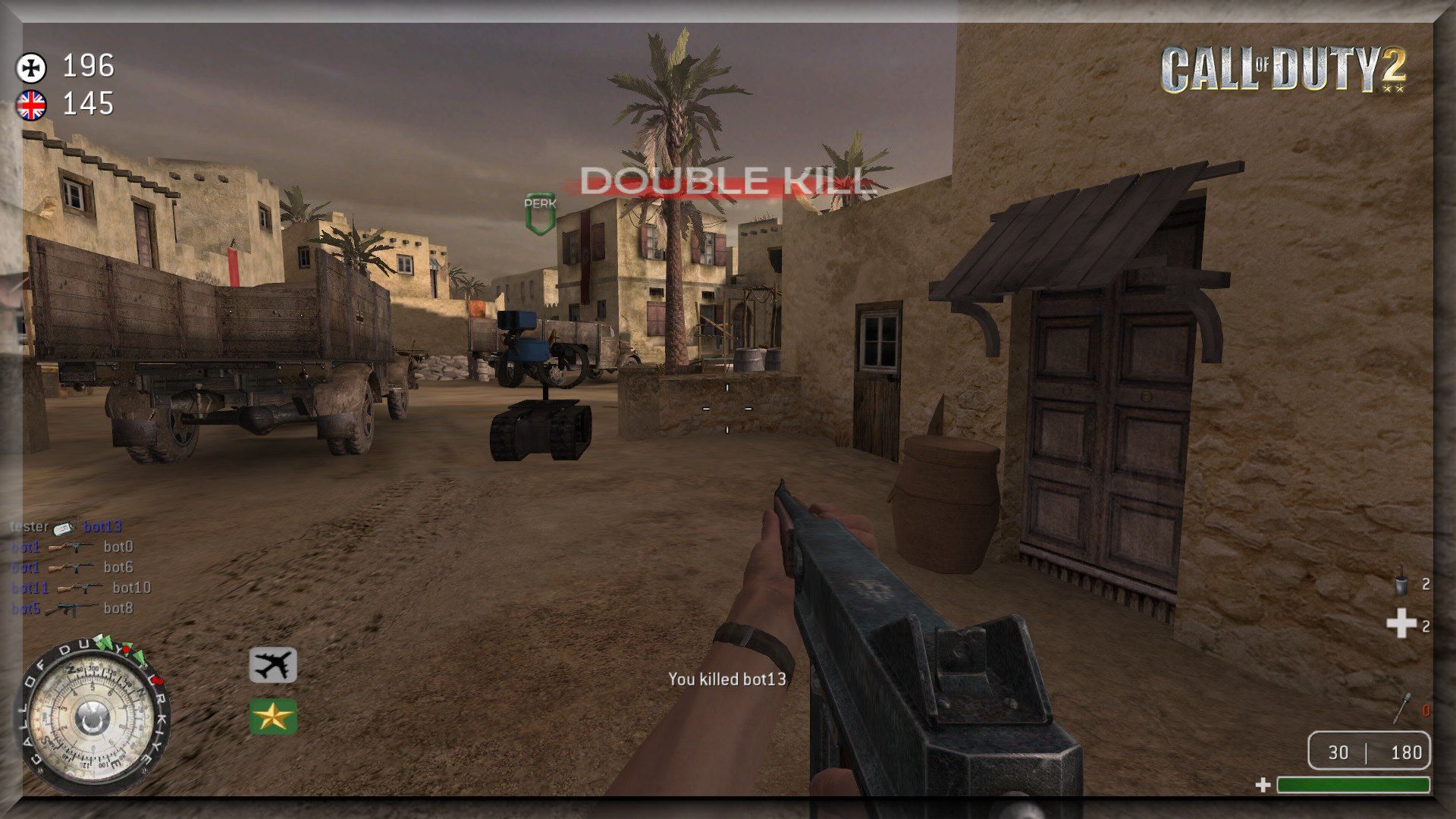 Call of Duty 2 eXtreme Mod Unmanned Ground Vehicle