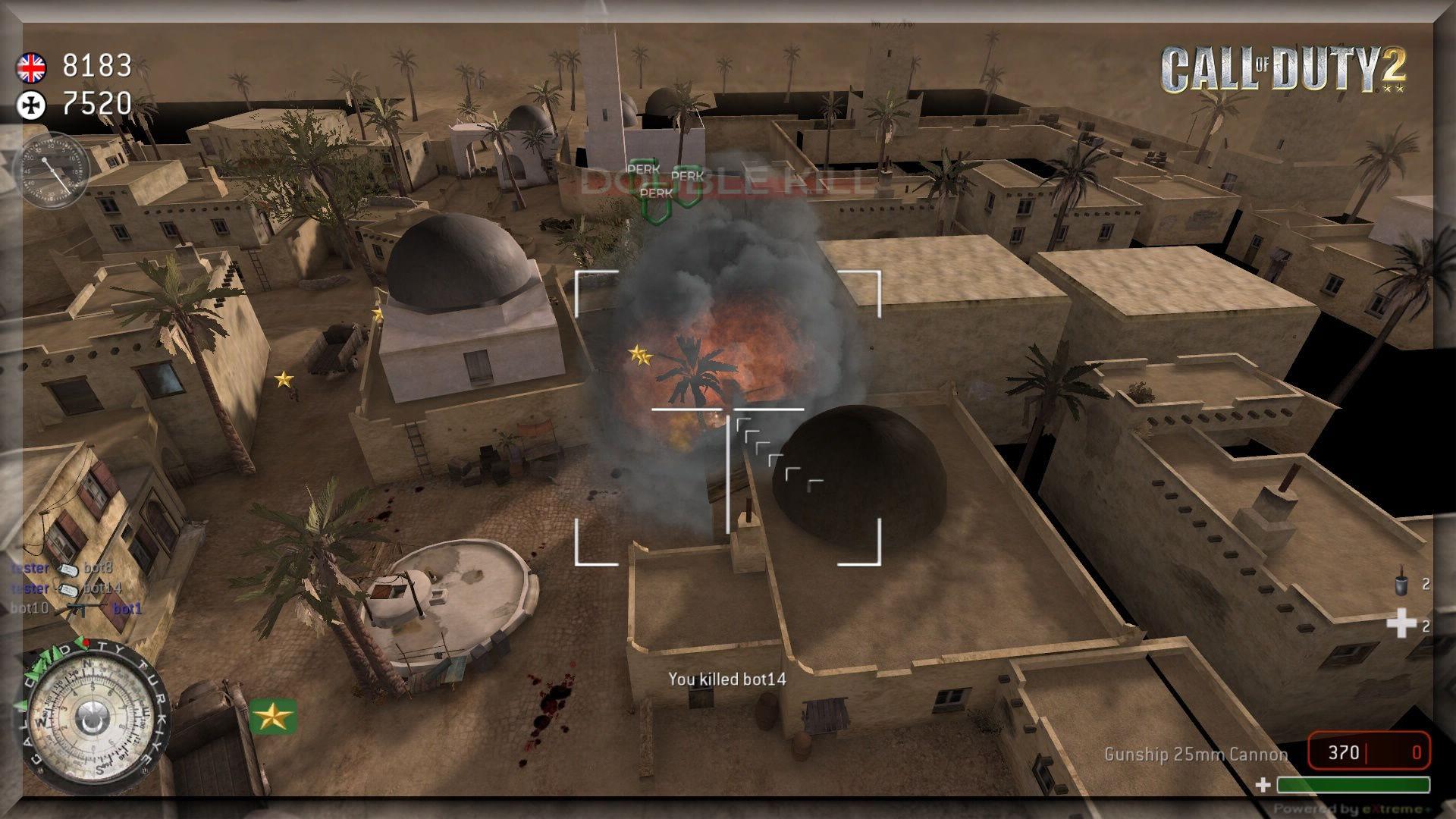 Call of Duty 2 eXtreme Mod Gunship