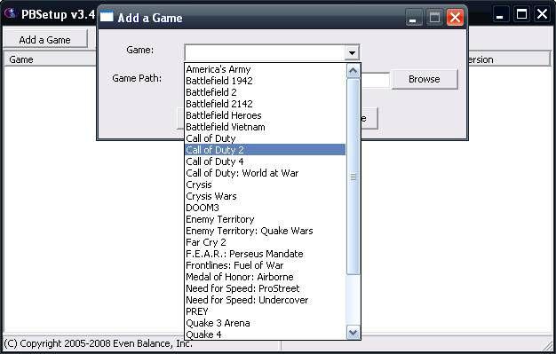 Call of Duty 2 Multiplayer Rehberi Pb Setup