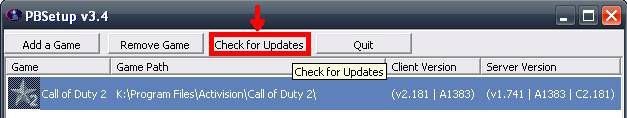 Call of Duty 2 Multiplayer Rehberi PB Ayar