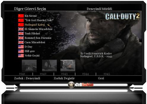 Call of Duty 2 Türkçe Yama İndir