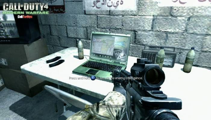 Call of Duty 4 Modern Warfare Intel Şifreleri