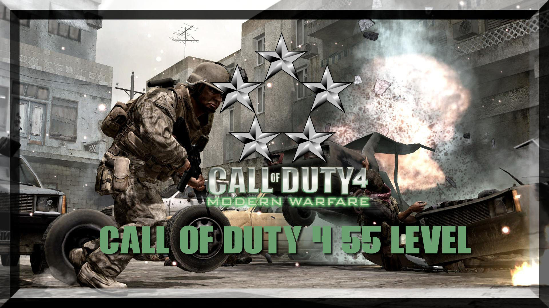 Call of Duty 4 Level 55 Yapma