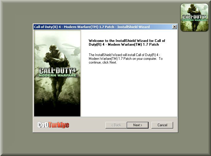 Call of Duty 4 Patch v.1.7