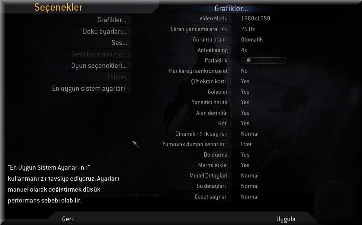 Call of Duty 4 Türkçe Yama indir
