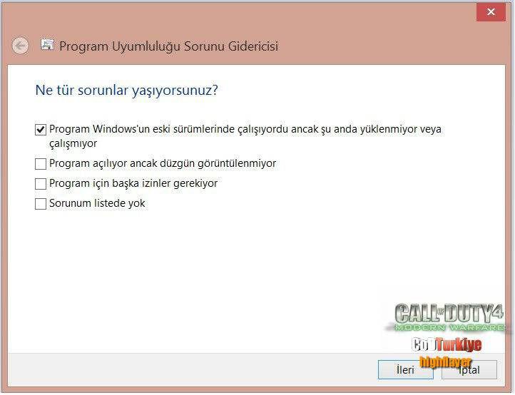CoD4 Windows 8 Crash Fixed