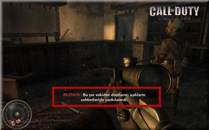 Call of Duty 5 World at War Türkçe Yama indir