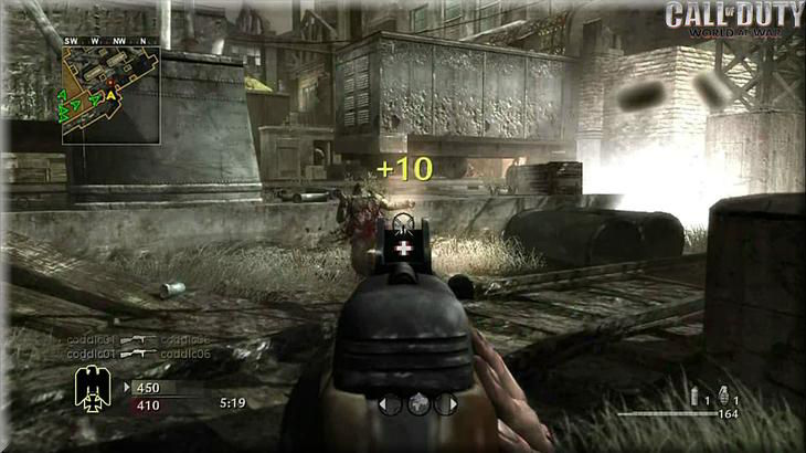 Call of Duty 5 World at War in Game
