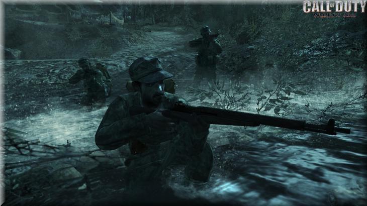 Call of Duty 5 World at War Oyun İçi Görüntü