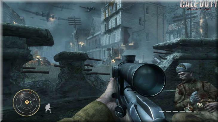 Call of Duty 5 World at War Sniper