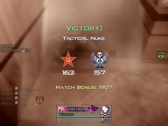 Call of Duty 6 Modern Warfare 2 Nuke Atmak