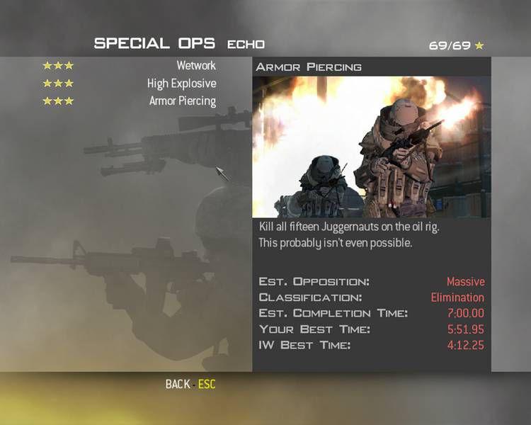 Call of Duty 6 Modern Warfare 2 Special Ops Taktikleri