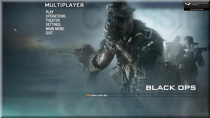 Call Of Duty 7 Black Ops Multiplayer
