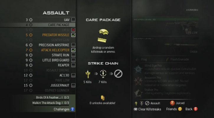 Call of Duty 8 Modern Warfare 3 Killstreaks