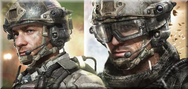 Call of Duty 8 Modern Warfare 3 Oyun Karakterleri