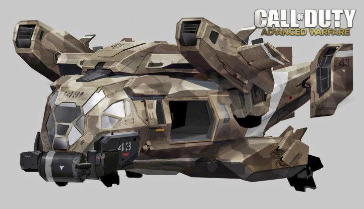 Call of Duty Advanced Warfare Aircraft