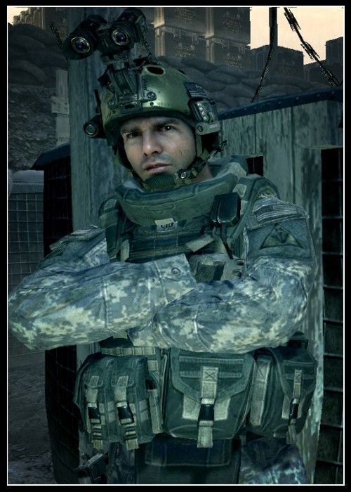 Call of Duty Karakteri Dunn
