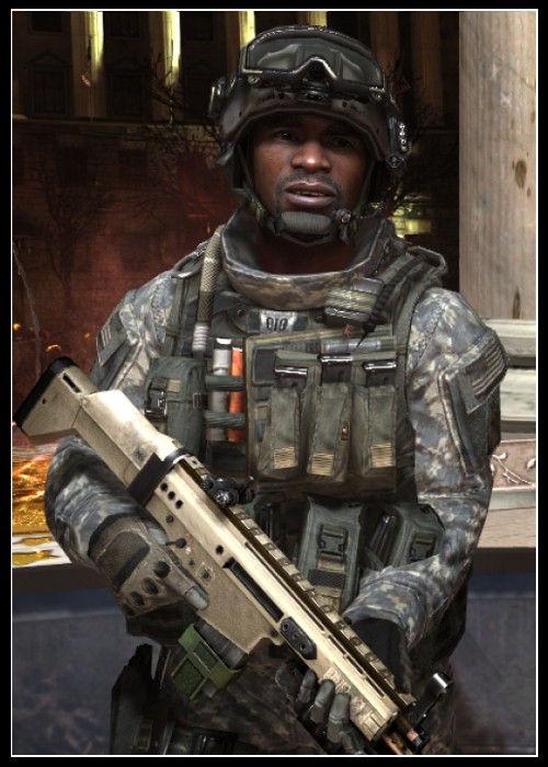 Call of Duty Karakteri Foley