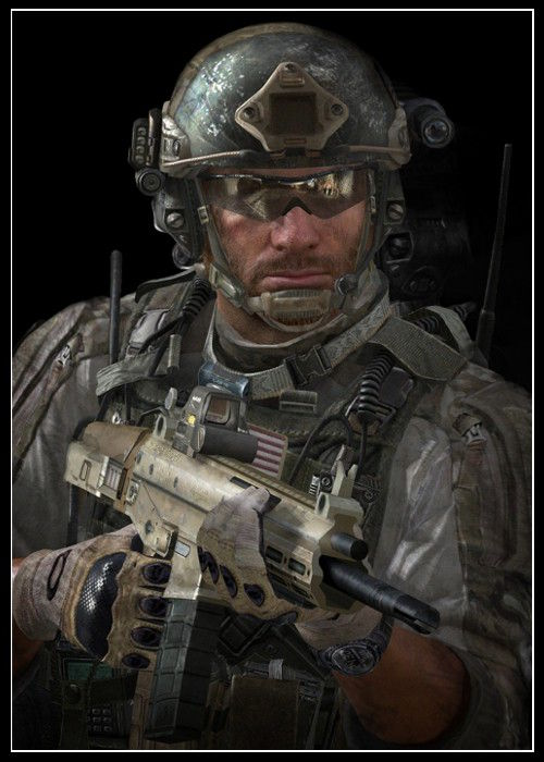Call of Duty Karakterleri Sandman