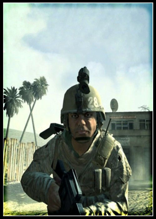 Call of Duty Karakteri Vasquez