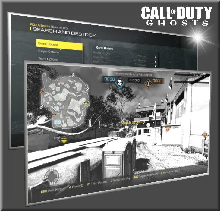 Call of Duty Ghosts Broadcaster Mod