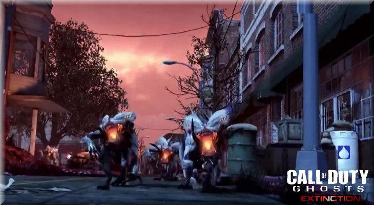 Call of Duty Ghosts Extinction Uzaylı Yaratıklar