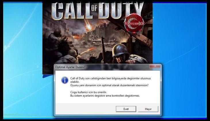 Call of Duty Optimal Ayarlar