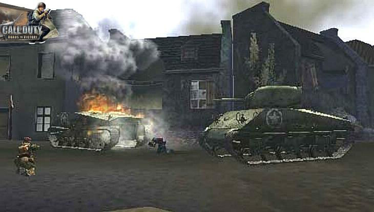 Call of Duty Roads to Victory Two Tanks
