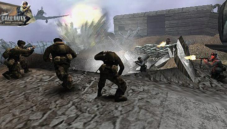 Call of Duty Roads to Victory Gameplay