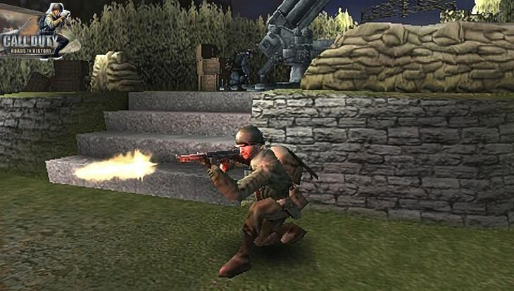 Call of Duty Roads to Victory a Soldier