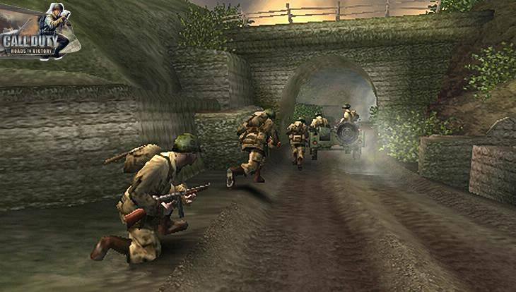 Call of Duty Roads to Victory American Teem