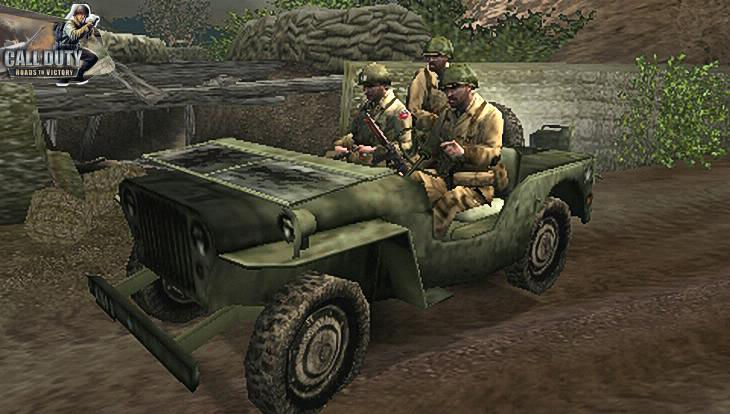 Call of Duty Roads to Victory Drive Jeep