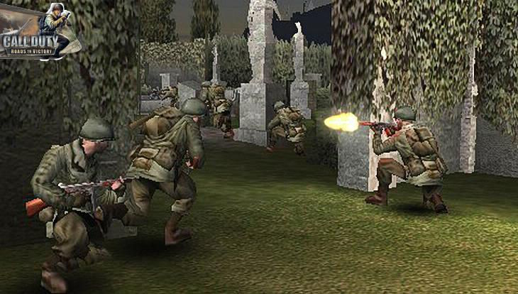 Call of Duty Roads to Victory Attack