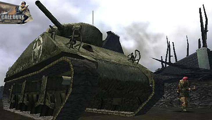 Call of Duty Roads to Victory Gameplay Tank