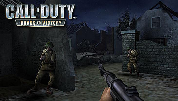 Call of Duty Roads to Victory American Soldiers