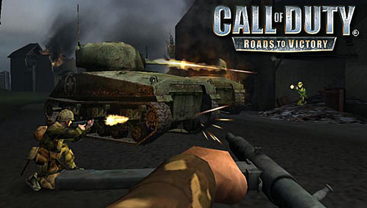 Call of Duty Roads to Victory Behind the Tank