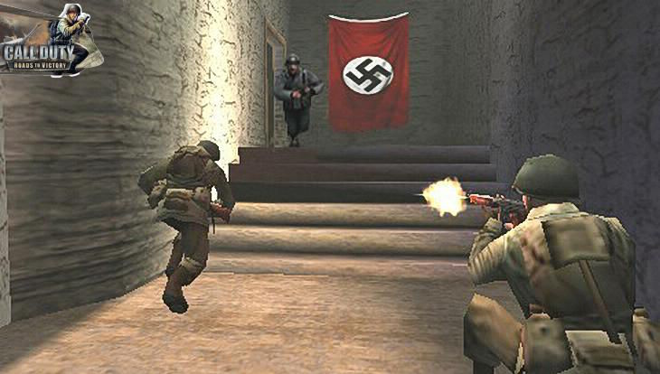 Call of Duty Roads to Victory Americans vs Germans