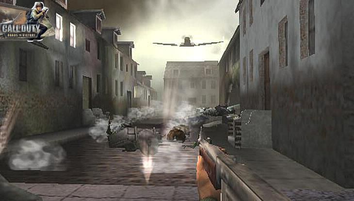Call of Duty Roads to Victory Bomber Plane