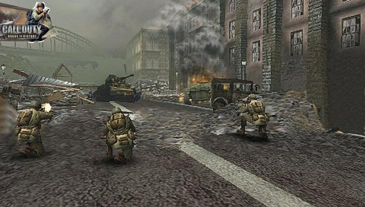 Call of Duty Roads to Victory Bridge