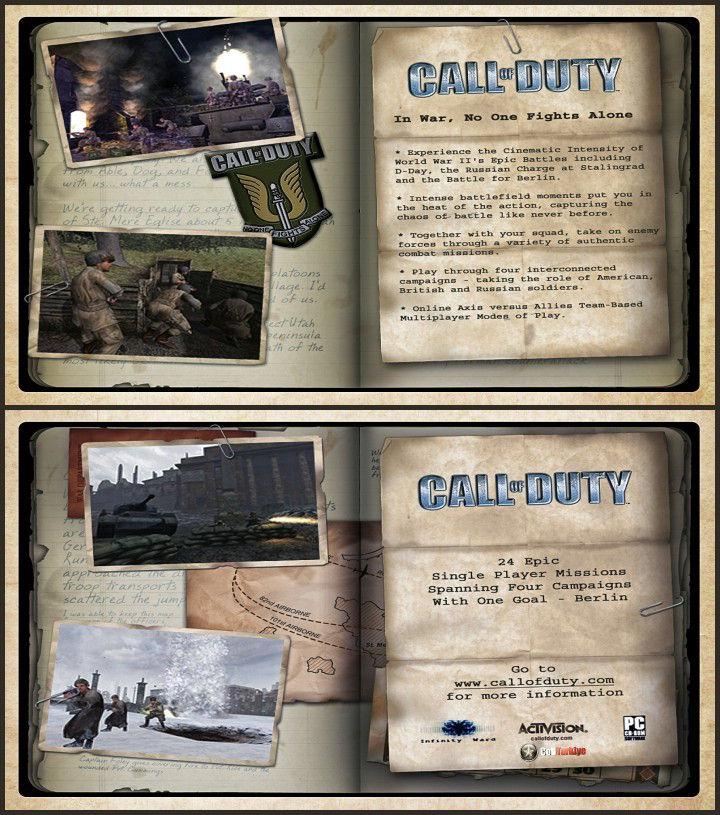 Call of Duty Save Game Dosyası