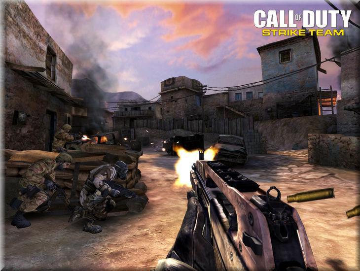 Call of Duty Strike Team Campaign Mod