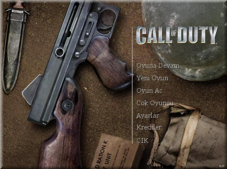 Call of Duty Türkçe Yama indir
