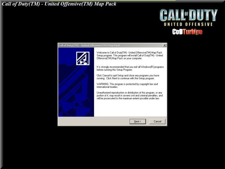Call of Duty United Offensive Map Pack