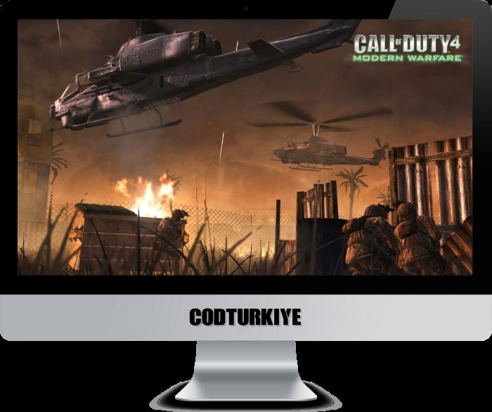Call of Duty 4 Multiplayer Oynamak