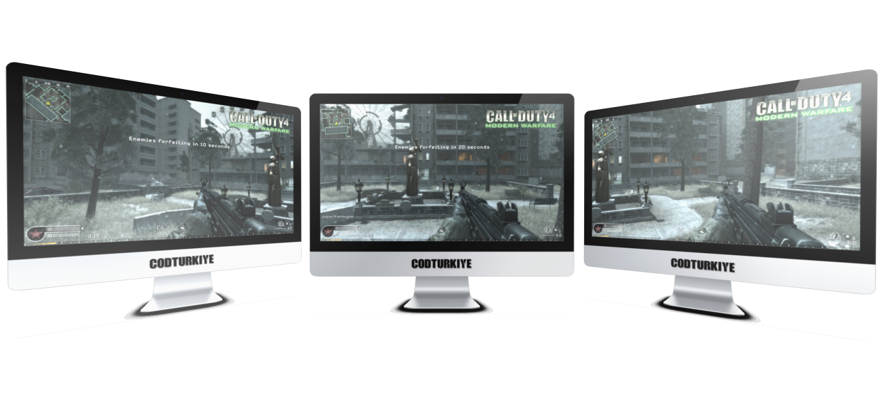 Call of Duty 4 Triple Monitor