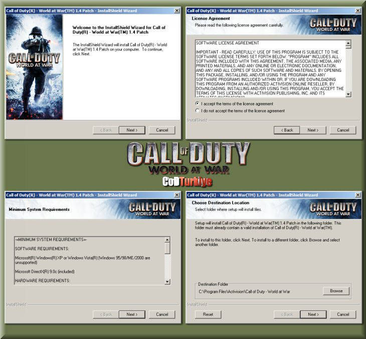 Call of Duty 5 World at War Patch v.1.4
